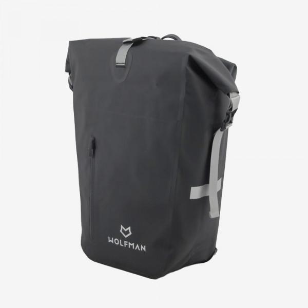 WOLFMAN Fahrradtasche für Gepäckträger - City